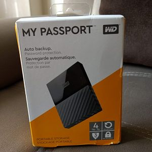 4TB Western Digital My Passport