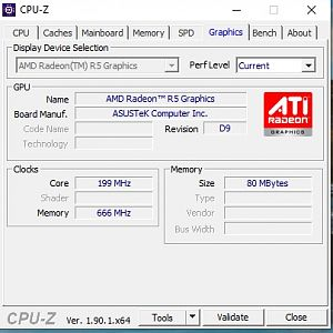 CPU-Z de laptop